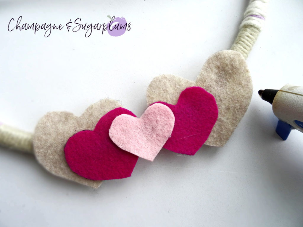 Valentine's Day Wreath by Champagne and Sugarplums