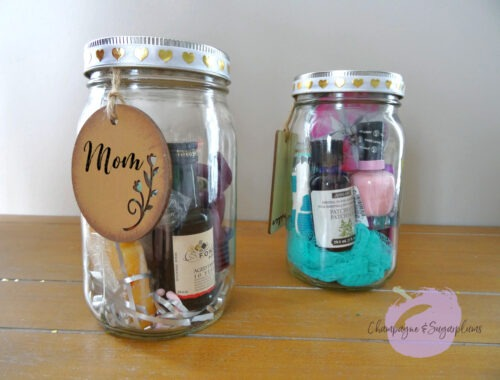Mother's Day Jars Title by Champagne and Sugarplums