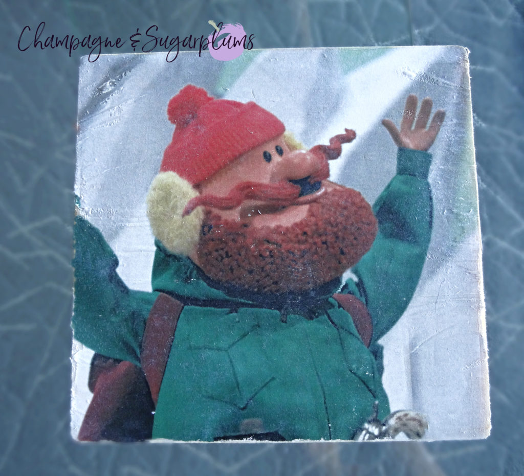 Completed photo transfer of Yukon man by Champagne and Sugarplums