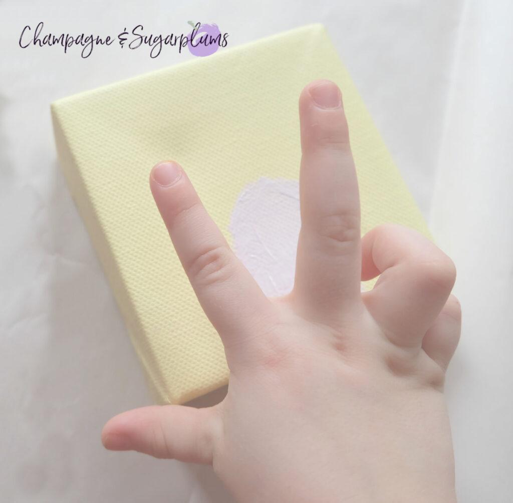 Cute Easter Fingerprint Painting Ideas