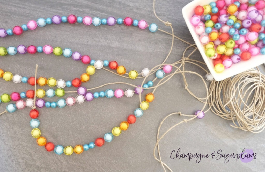Knots, twine and beads