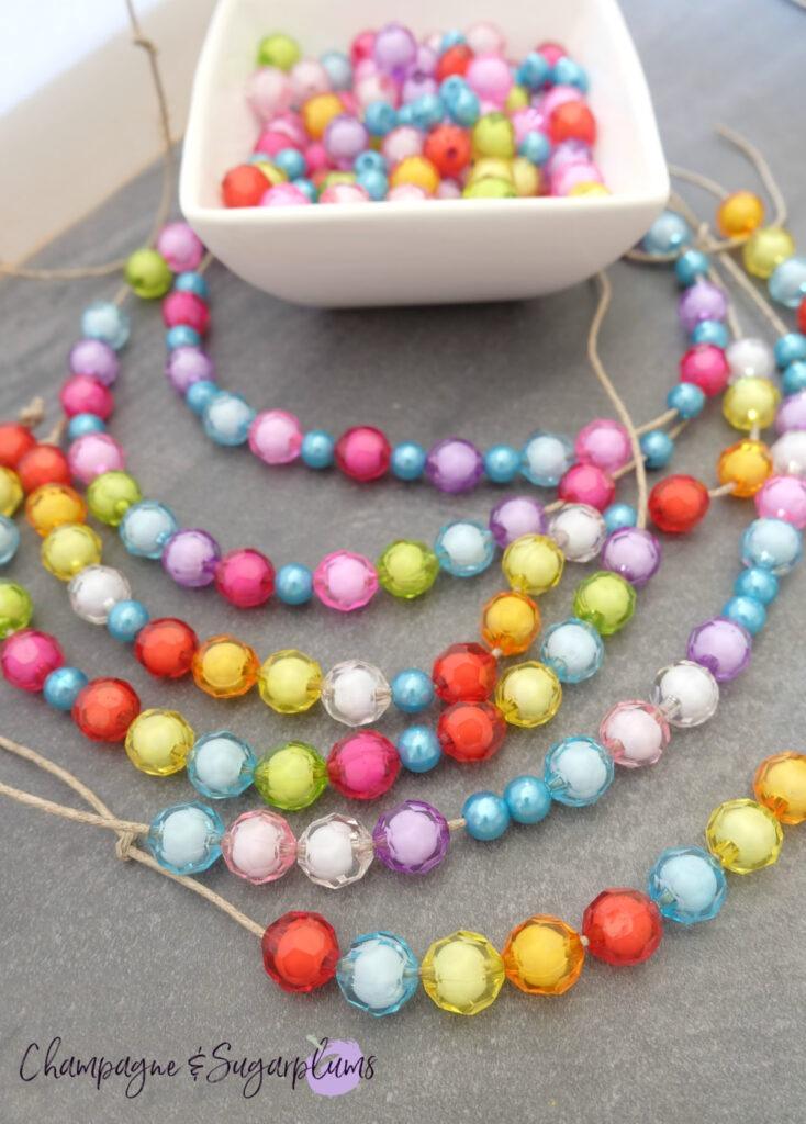 Beads and twine