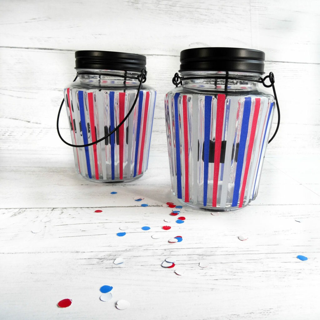 DIY Fourth of July Celebration Candles - Champagne and Sugarplums