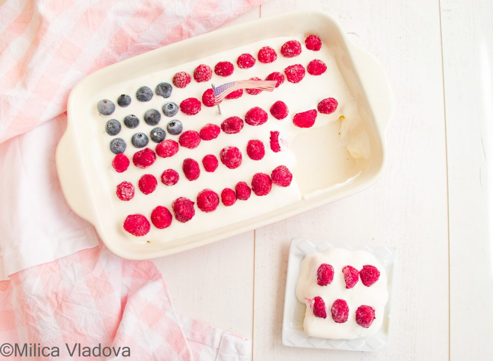 Low Carb Protein Cake Recipe (Low Carb Patriotic Cake) - Mind Body and Spirit Wellbeing