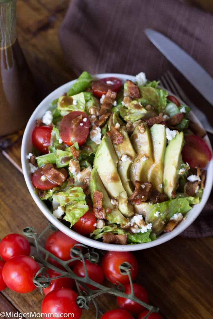 Avocado BLT Salad Recipe - Midget Momma