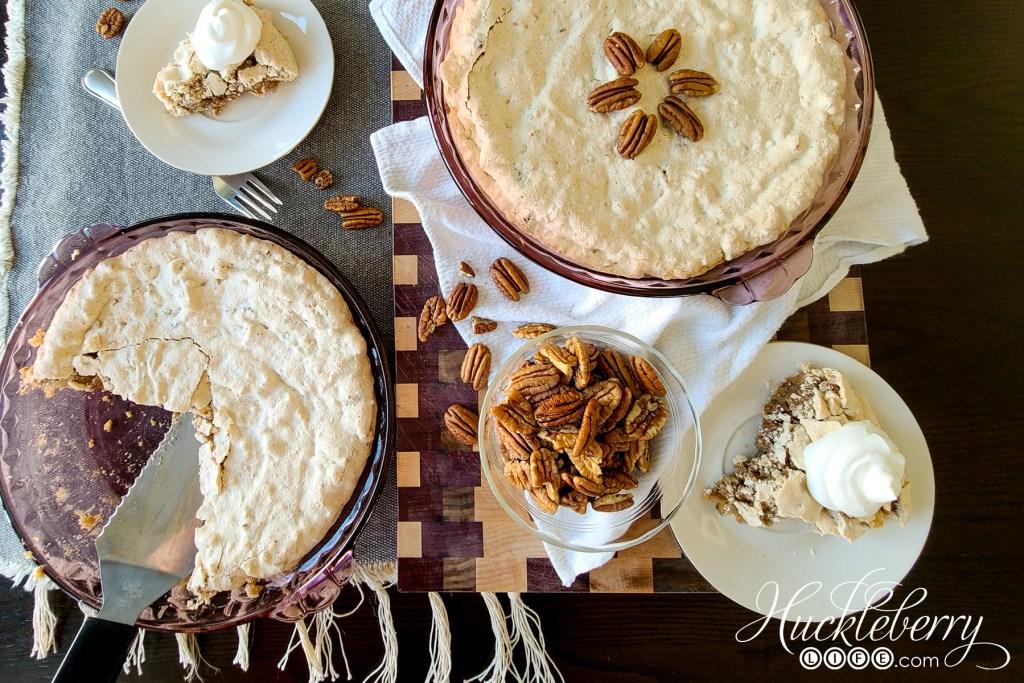 Grandma Mildred's Summer Pecan Pie - Huckleberry Life