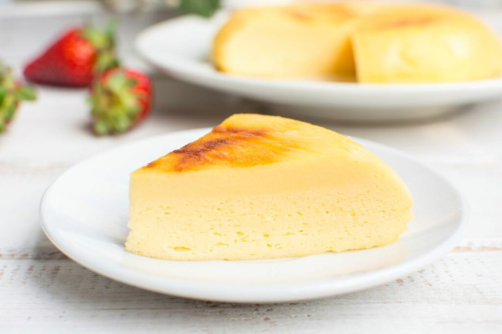 Instant Pot Japanese Cheesecake - CorrieCooks