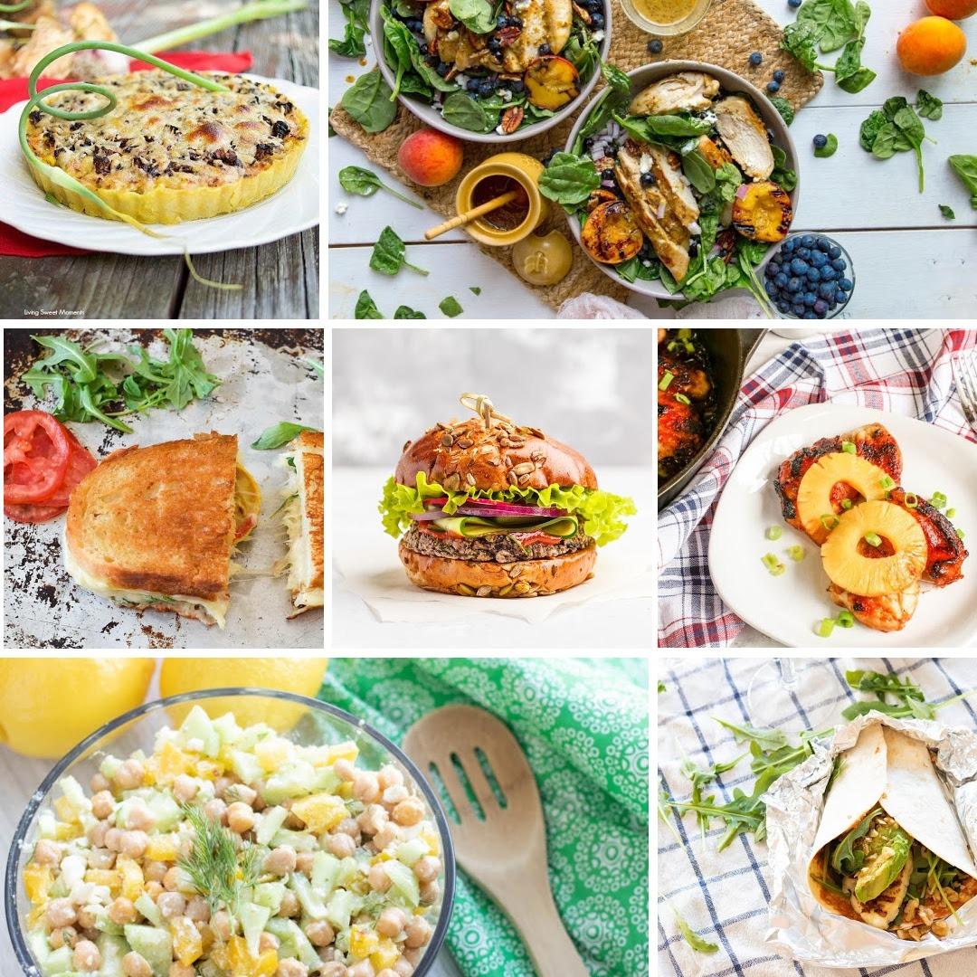 Summer Long Weekend Ultimate Dinner Recipe List