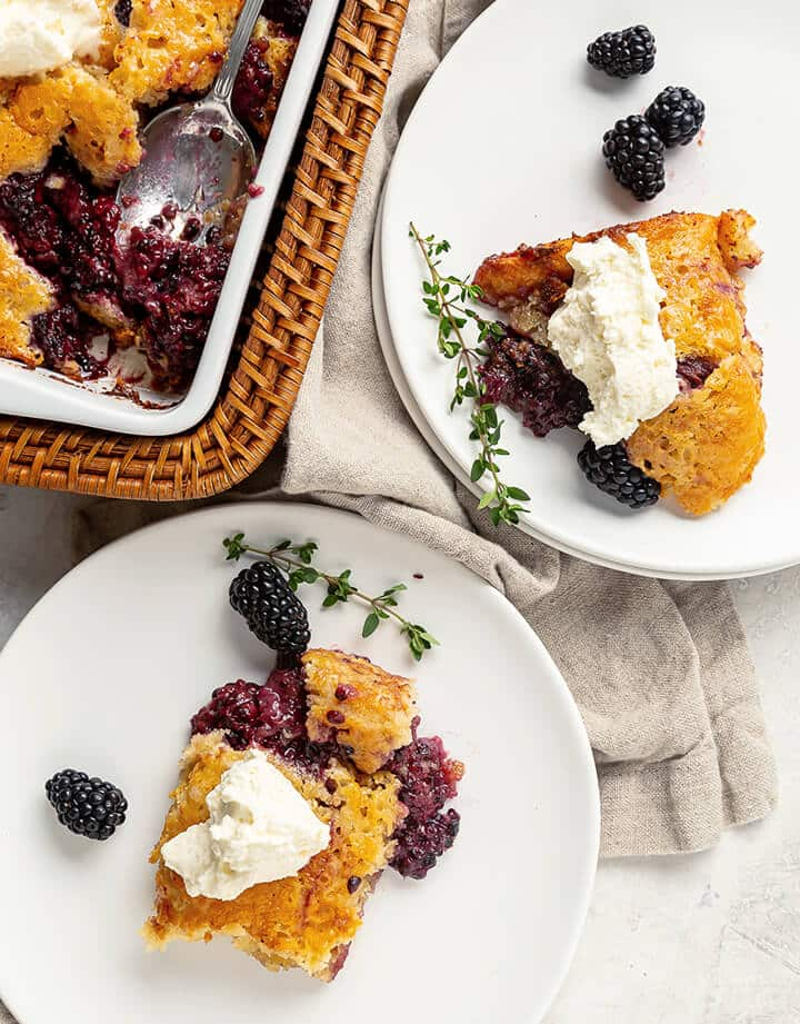 Blackberry Cobbler - Southern Food and Fun