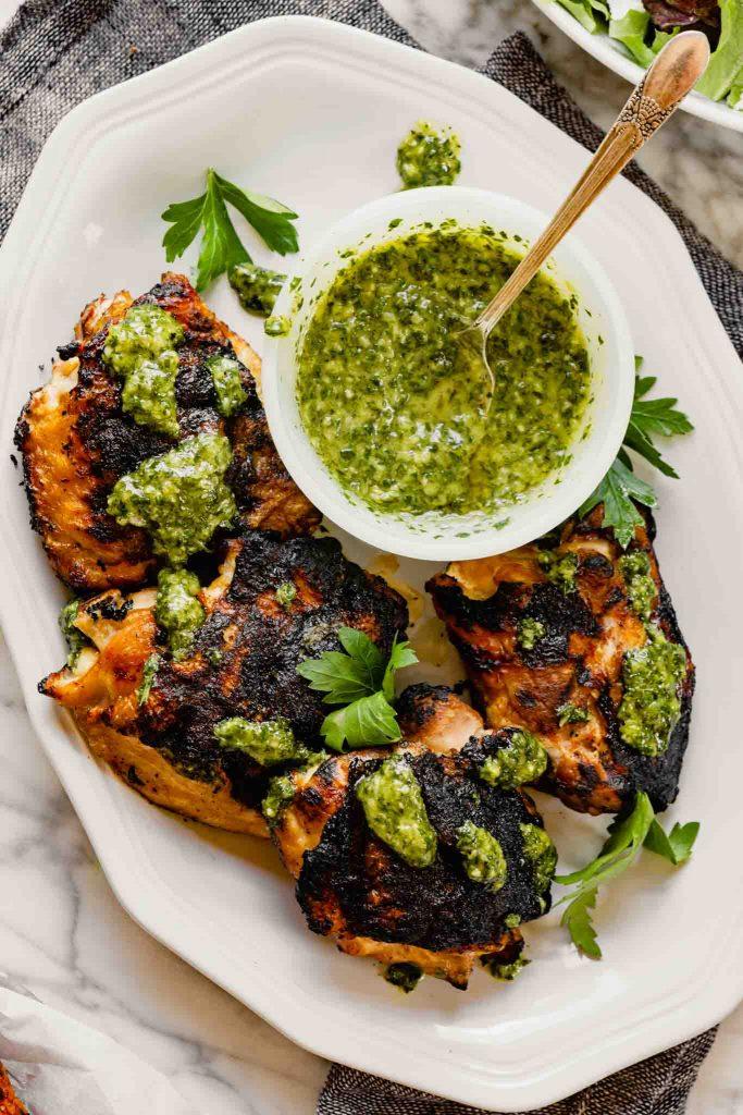 Chimichurri Chicken - Zestful Kitchen