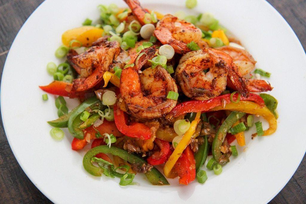 Jerk Shrimp - Cooked by Julie