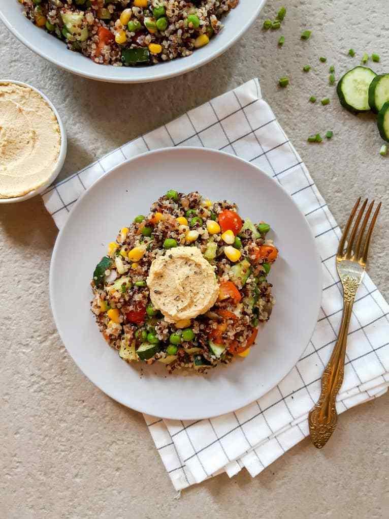 Easy Quinoa Salad Recipe (Vegan + Gluten-Free) - My Plantiful Cooking