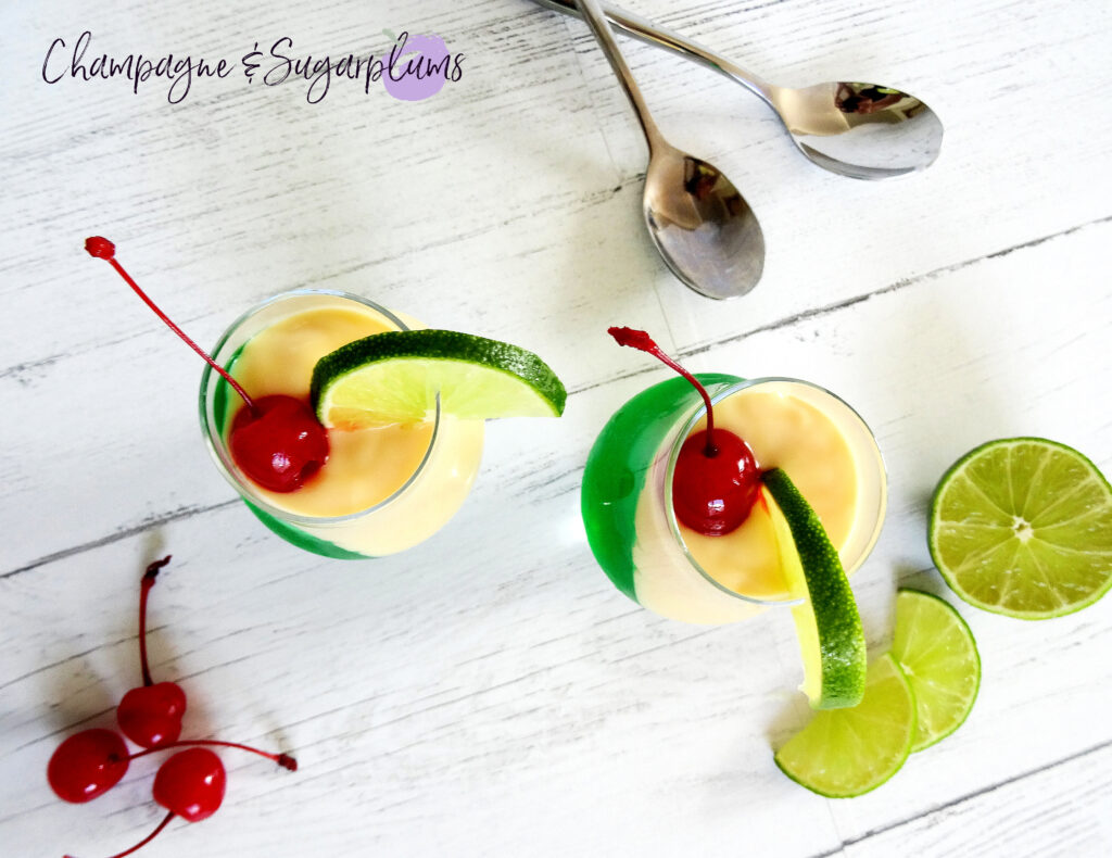 Lime custard cup recipe by Champagne and Sugarplums