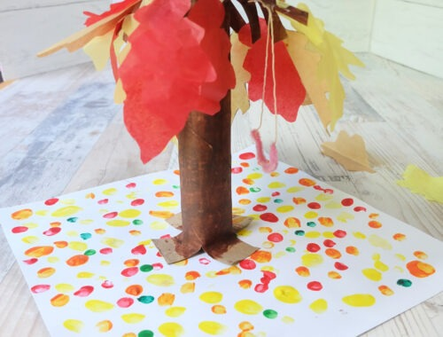 Paper Bag Kids Craft by Champagne and Sugarplums