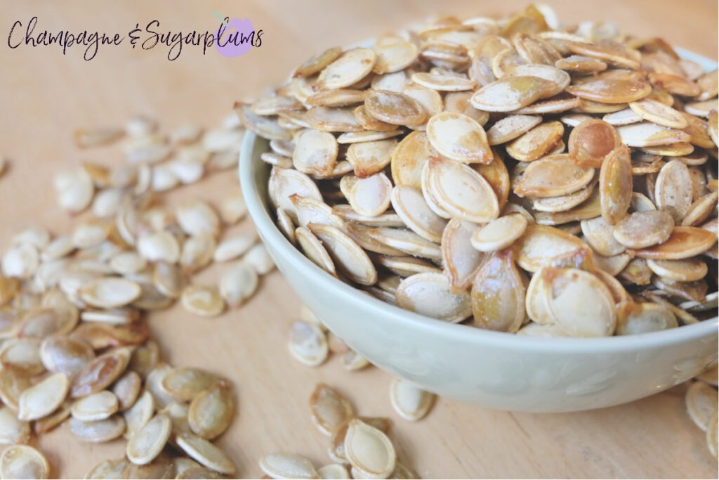 Pumpkin Seeds Recipe by Champagne and Sugarplums