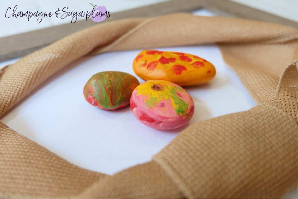 Painted Rocks Kids Craft by Champagne and Sugarplums