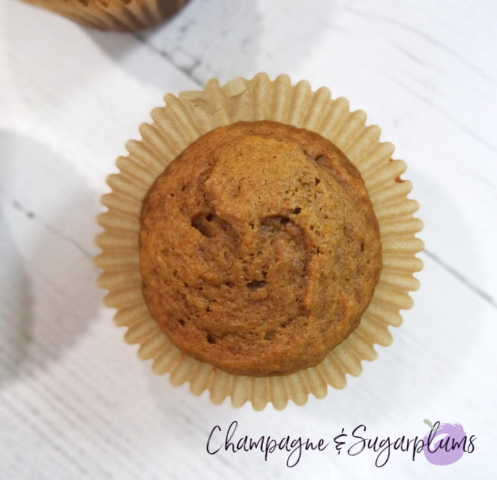 Pumpkin Cupcakes on a white background by Champagne and Sugarplums
