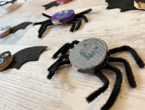 Cute and Easy Dancing Halloween Kids Craft