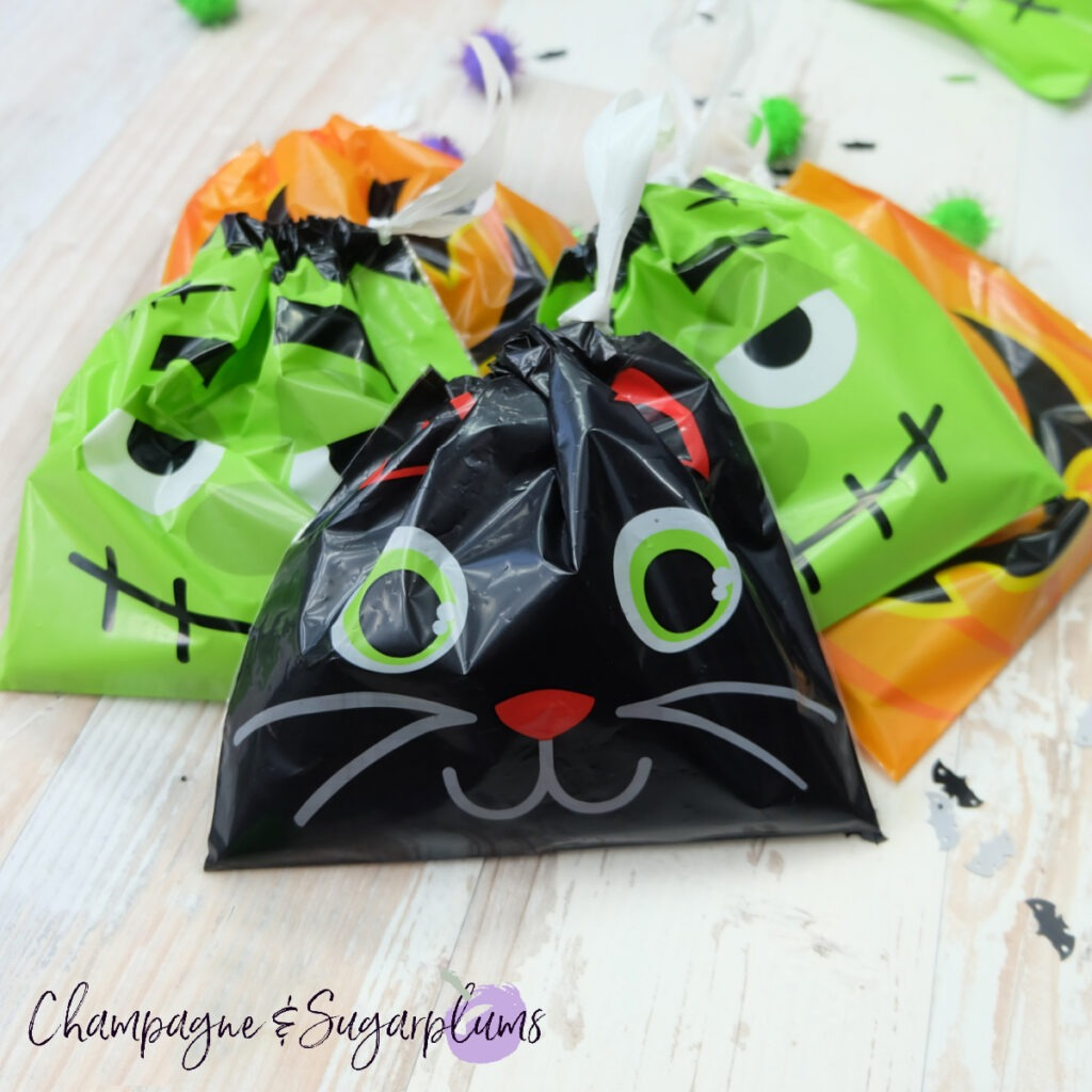 Treat Bag Banner for Halloween