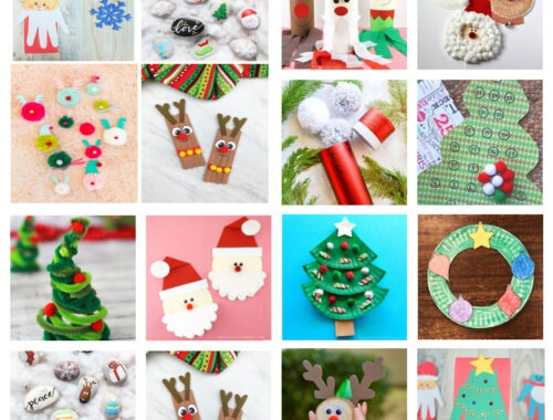 The Best Christmas Crafts for Kids by Champagne and Sugarplums