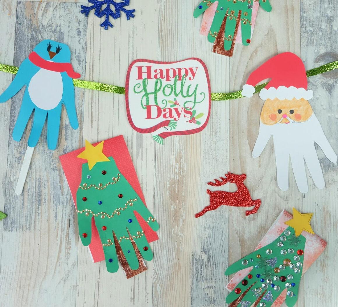 Christmas Handprint Kids Craft Idea