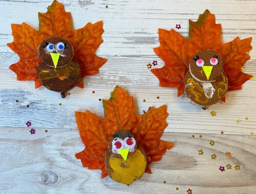 Cute and Fun Turkey Craft Idea for Kids
