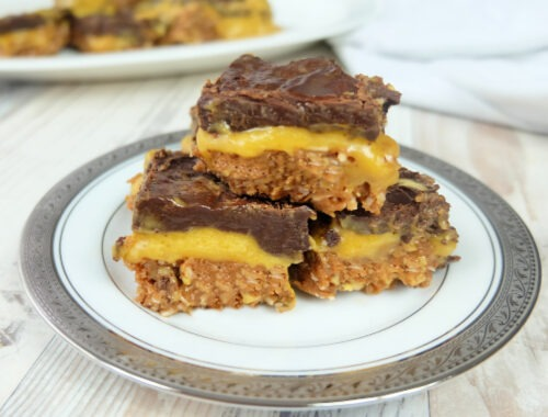 Easy Pumpkin Nanaimo Bars Feature image