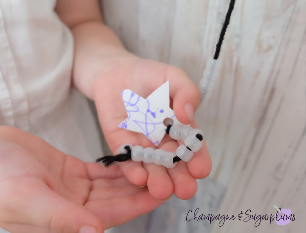 Shooting Star New Year's Eve Kids Craft by Champagne and Sugarplums