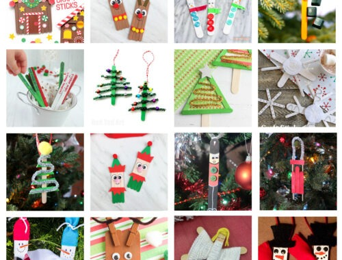 The Best Christmas Popsicle Stick Crafts for Kids to Make