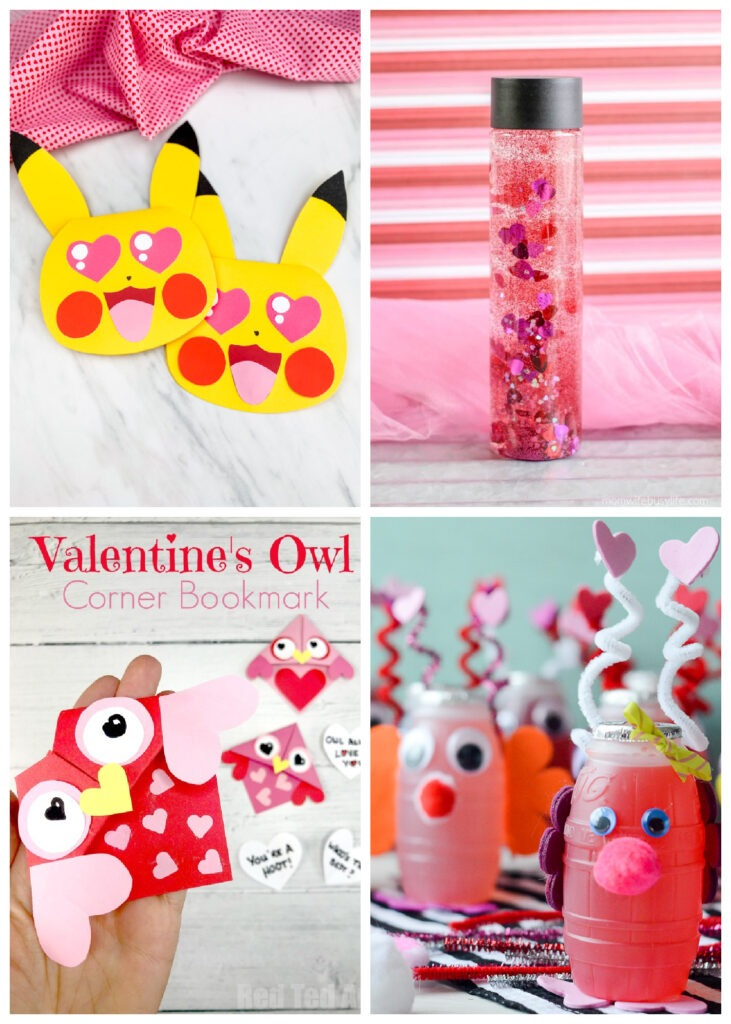 The Best Valentine's Crafts for Kids to Make by Champagne and Sugarplums