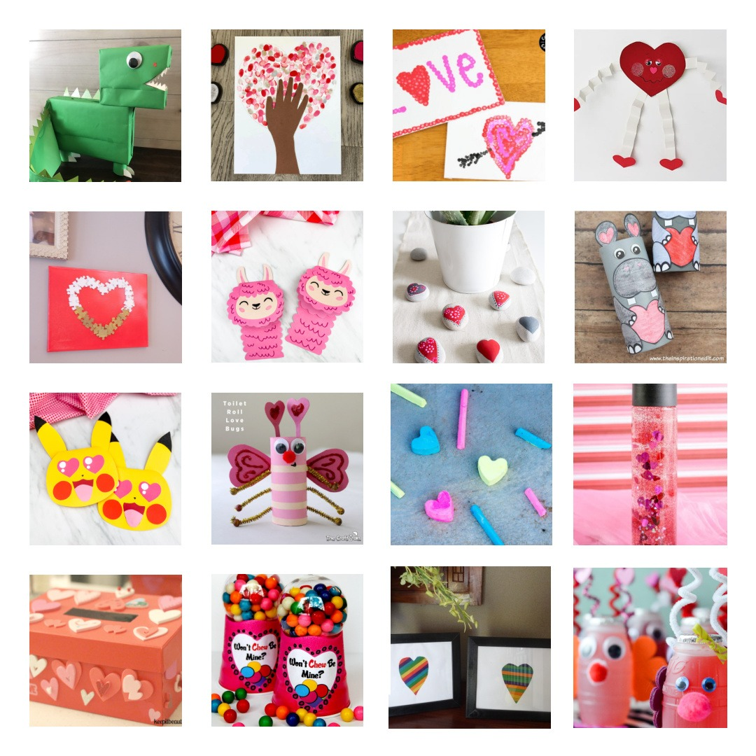 Valentine's Day Kids Crafts to Make by Champagne and Sugarplums