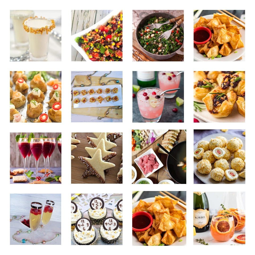 Ultimate New Year's Recipe Collection by Champagne and Sugarplums