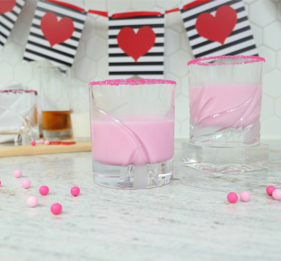 Pink Amaretto and Cream by Champagne and Sugarplums Title