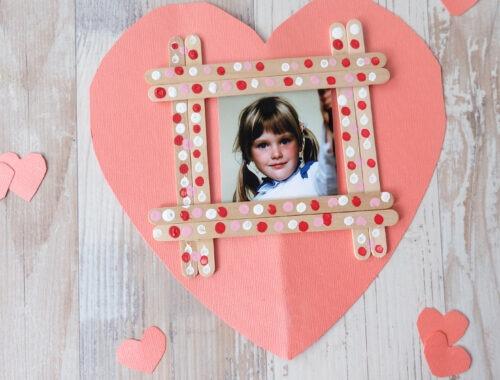 Popsicle Stick Valentine's Kids Craft