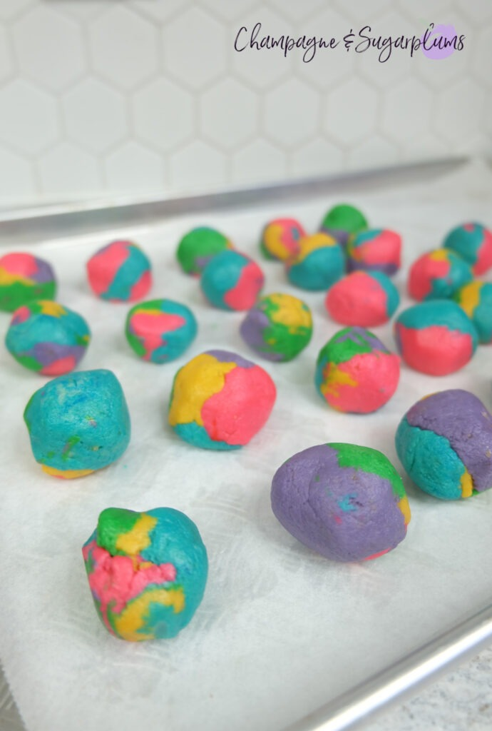 St. Patrick's Day Rainbow Truffles by Champagne and Sugarplums