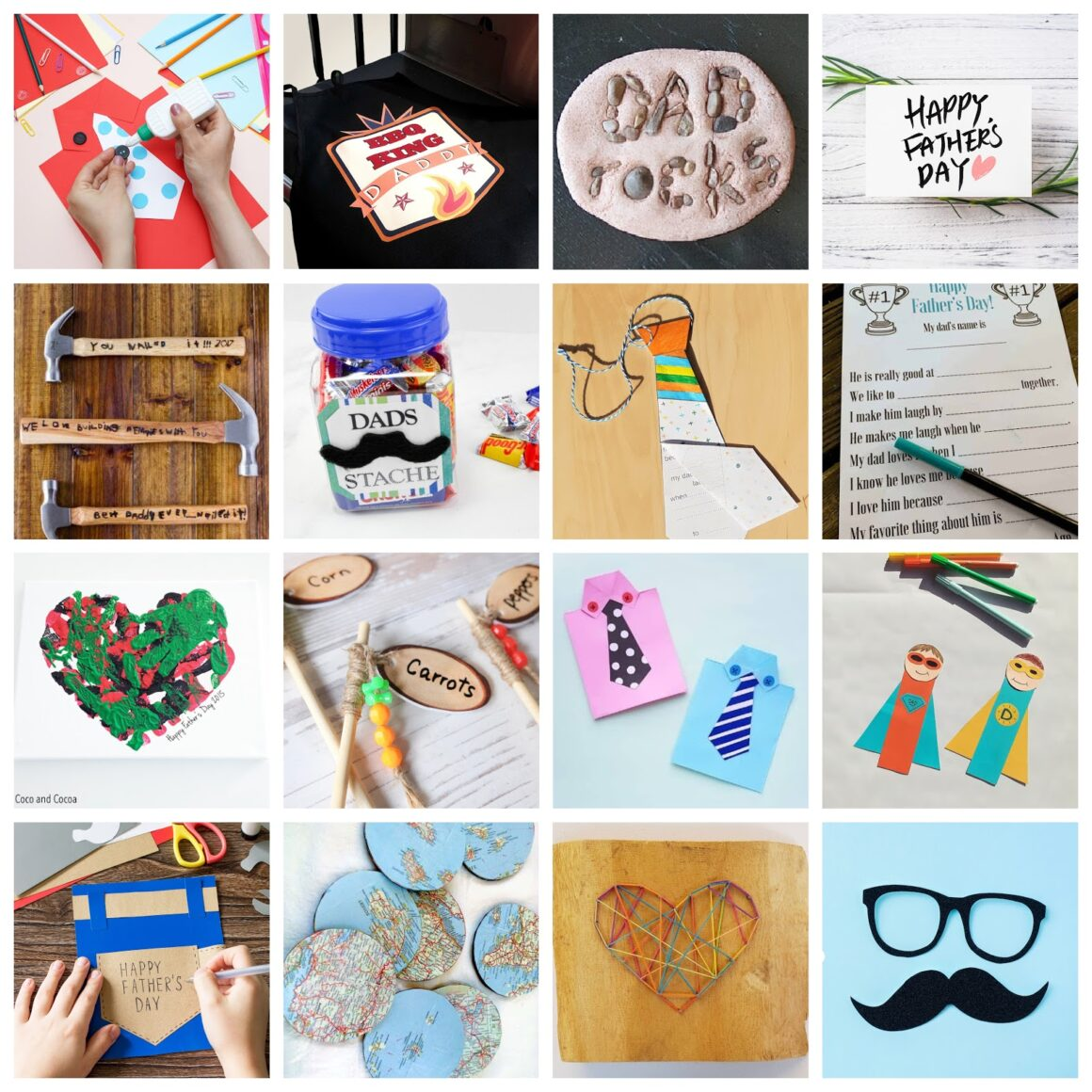 Father's Day Crafts That Kids Can Make