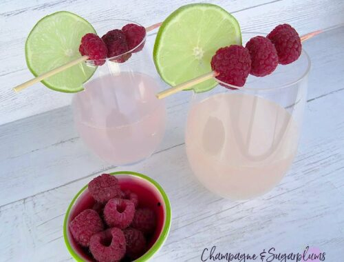 Pink Whitney Limeade Drink by Champagne and Sugarplums