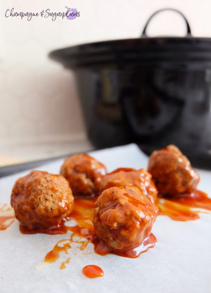 The Best Homemade Meatballs by Champagne and Sugarplums