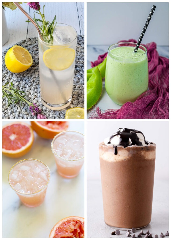 Over 65 Drink Recipes!